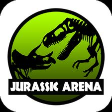 Взломанная Jurassic Arena: Dinosaur Fight на Андроид - Мод много монет