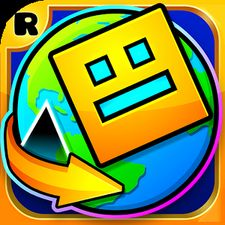 Взломанная Geometry Dash World на Андроид - Мод много монет