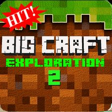 Взломанная Big Craft Exploration 2 на Андроид - Мод много монет