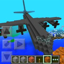 Взломанная Airplane Ideas MCPE Mod на Андроид - Мод много монет