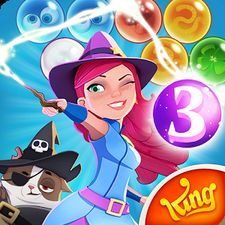 Взломанная Bubble Witch 3 Saga на Андроид - Мод много монет