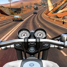Взломанная Moto Rider GO: Highway Traffic на Андроид - Мод много монет