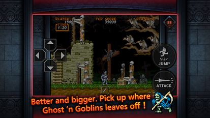 Взломанная Ghouls'n Ghosts MOBILE на Андроид - Мод много монет